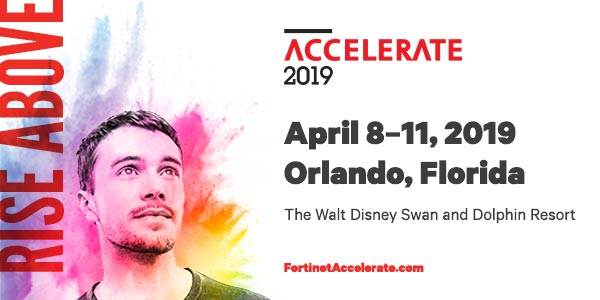 Fortinet Accelerate Conference 2019